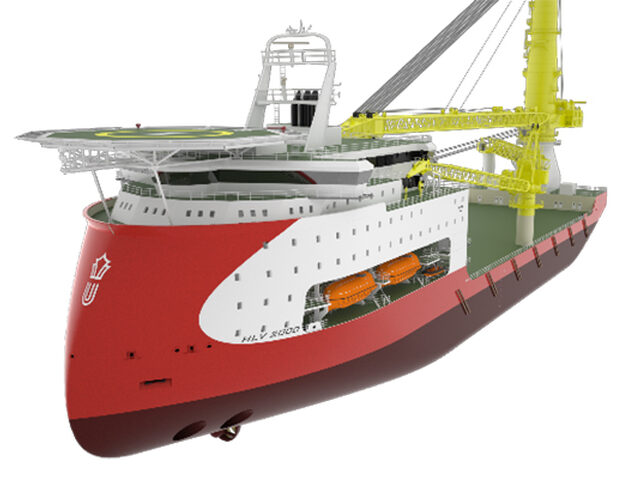 ULSTEIN HX heavy lift vessel designs