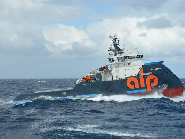 ALP Keeper in stormy weather