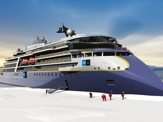 Lindblad's second new polar vessel designed and to be built by Ulstein.