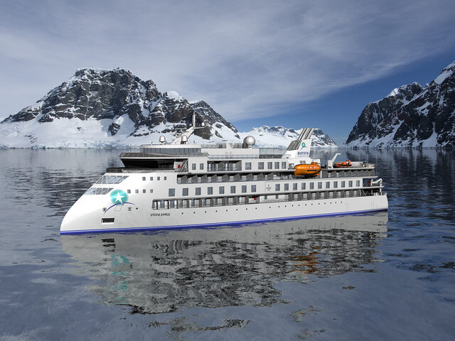 Aurora Expeditions' second X BOW® cruise vessel, the 'Sylvia Earle.'