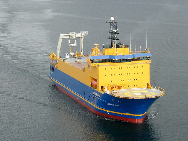 The cable laying vessel Oceanic King, Yno 259.