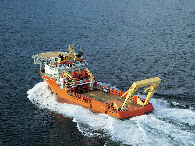Normand Progress was delivered in 1999 to Solstad Offshore