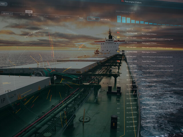 ULSTEIN AMS alarm and monitoring system typically for merchant, fishing vessels, ferries and other vessels that require a basic and cost effective alarm and monitoring system.