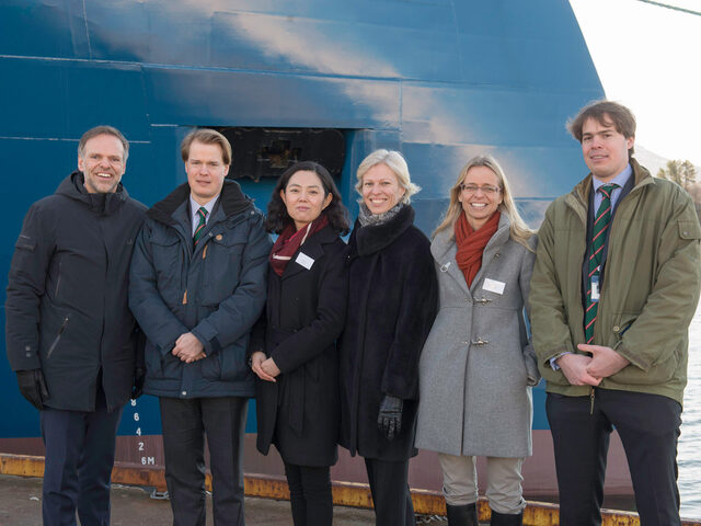 Windea Leibniz Naming Ceremony Representatives