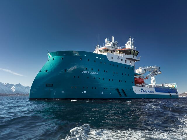Acta Auriga has successfully completed sea trial.