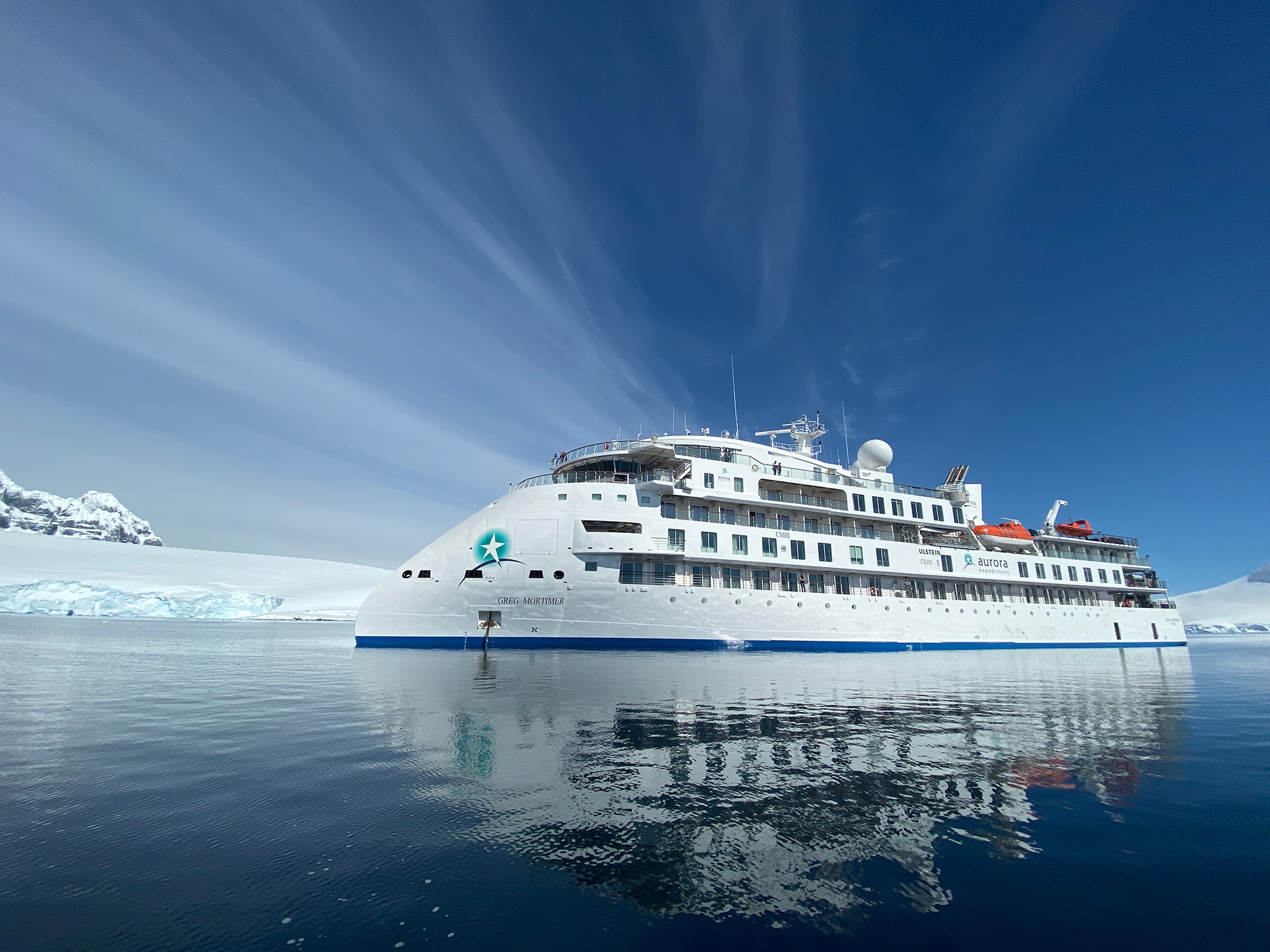'Greg Mortimer' - X-BOW expedition cruise vessel, photo: Aurora Expeditions.